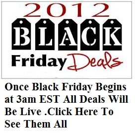 Black Friday 2012 deals and specials for hundreds of stores