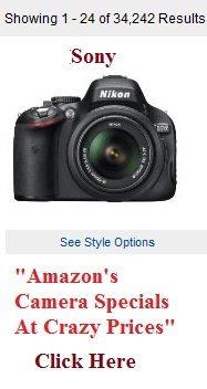 amazon camera specials cyber monday 2012 sony