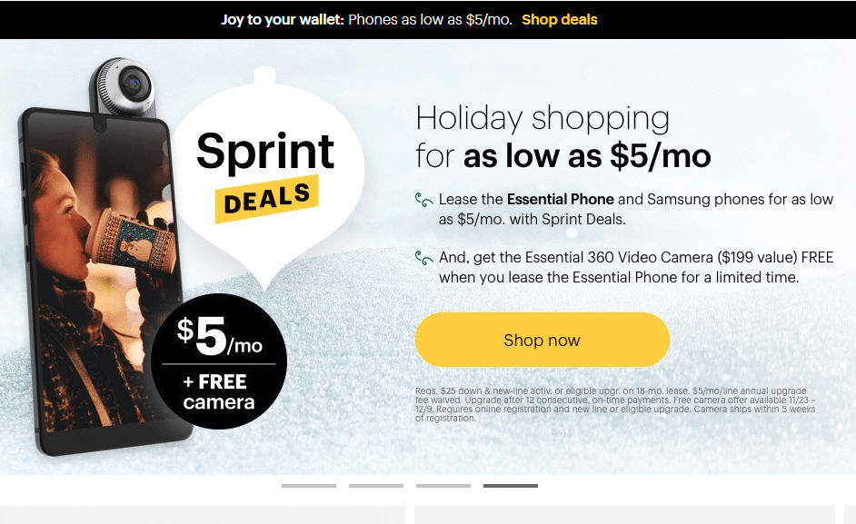 latest sprint.com promo deals and coupons