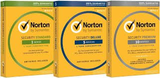 norton deluxe premium and standard products