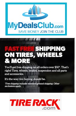 Tire Rack Coupon Code >> Tire Rack Coupons Promo Codes Deals May 2019 Mydealsclub