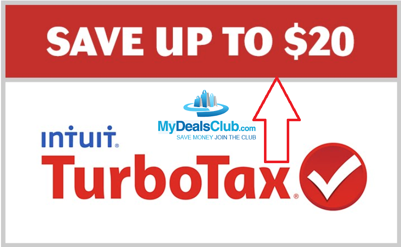turbotax service code featured discount savings