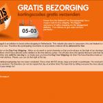 Gratisbezorging.nl – Netherlands Answer To Free Shipping Day