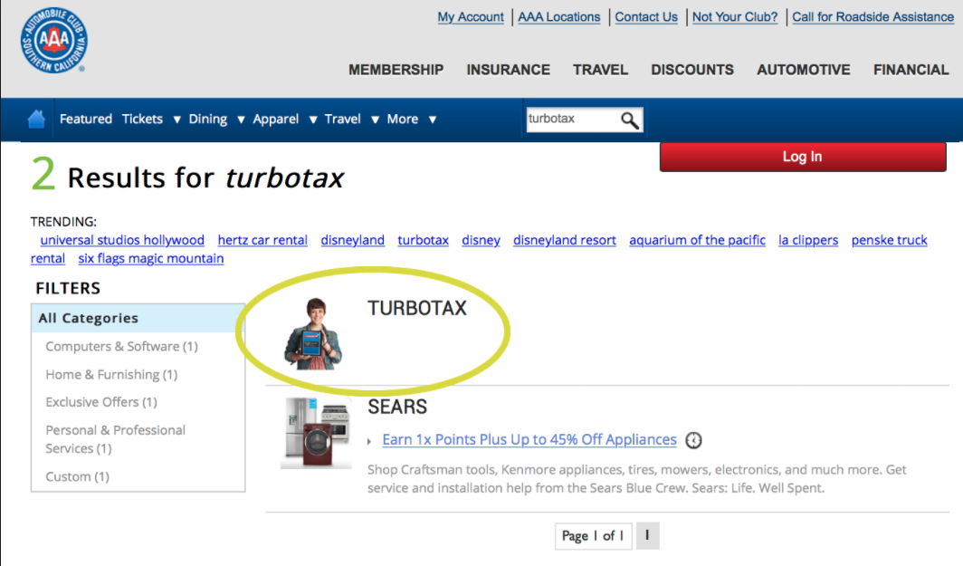 aaa TurboTax Member Coupons- Are They Available