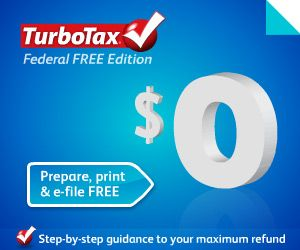 Free turbotax online federal edition file 2015 taxes for free.