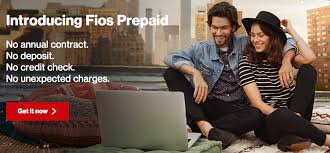 Fios prepaid option For new customers and existing ones