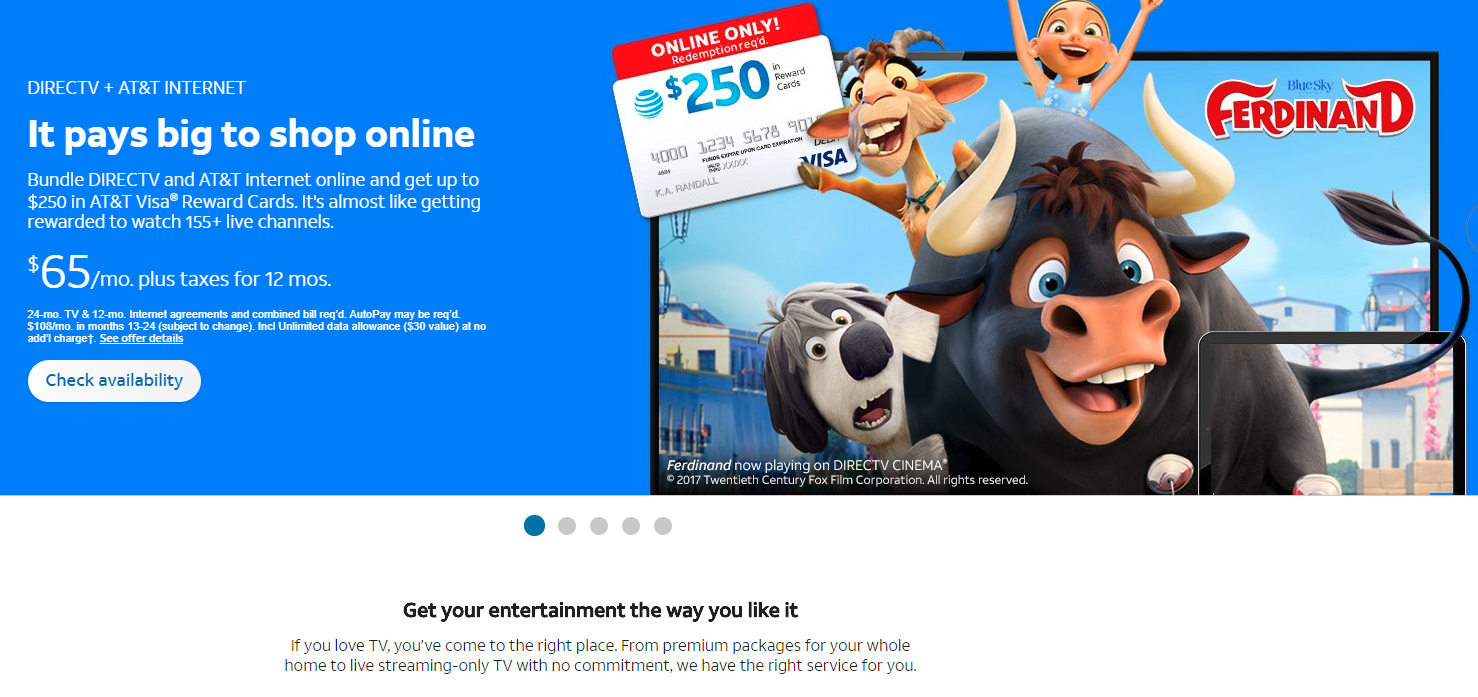 Directv Discounts For Existing Customers 2018 Save 30 Mydealsclub