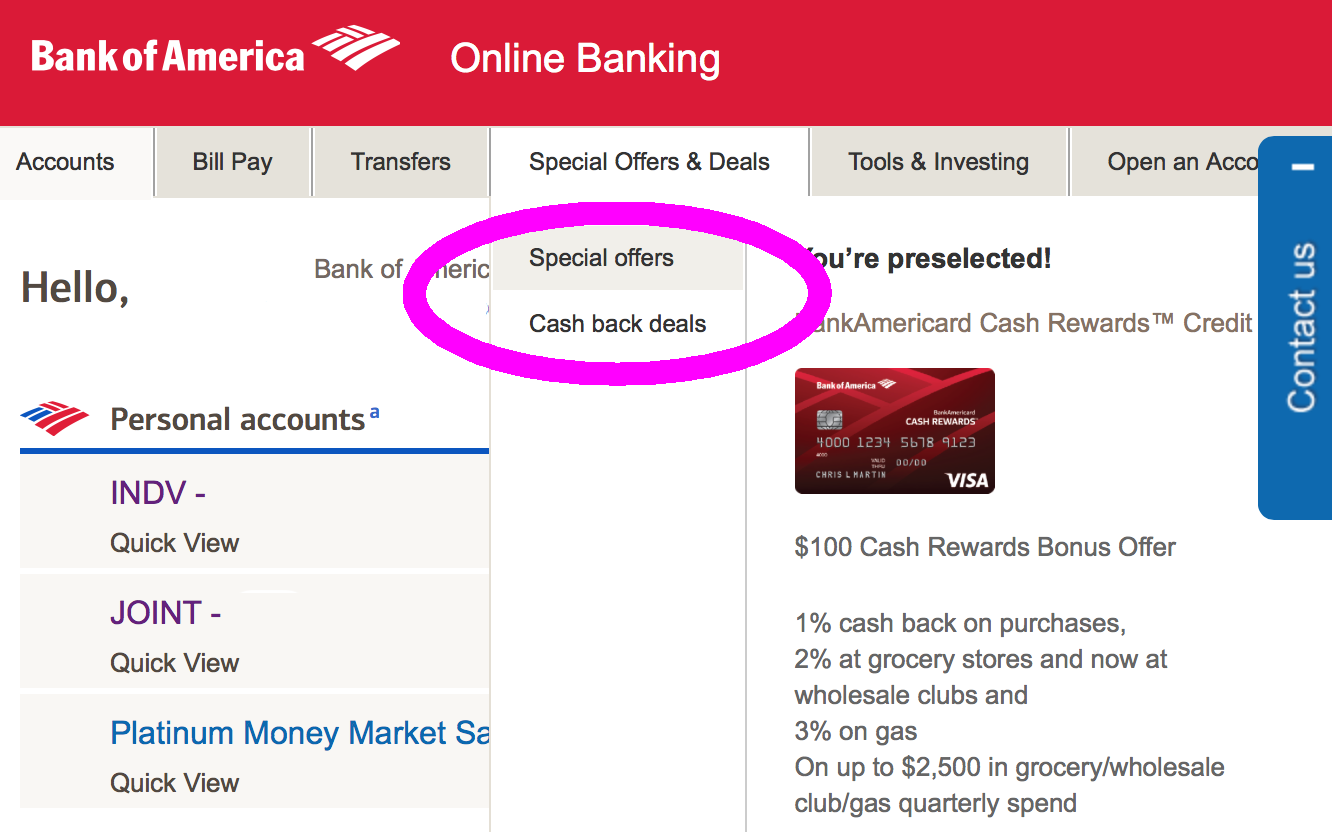 turbotax discount bank of america to save 30%