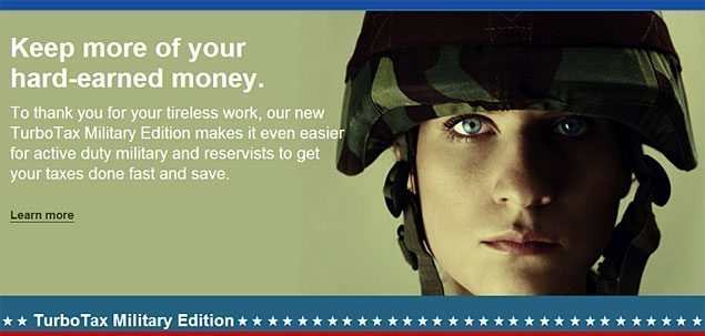 turbotax for military free discount voucher