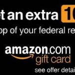 Turbotax Amazon Gift Card Bonus With Your Tax Refund