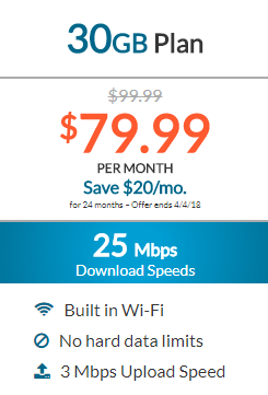 Dish Internet 30GB Plan