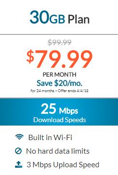 Dish Internet 30GB Plan
