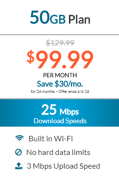 Dish Internet 50GB Plan