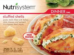 Nutrisystems Spinach Stuffed Shells