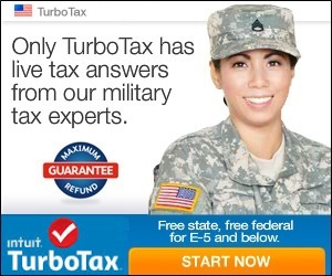 TurboTax Military Discount voucher coupons