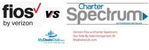 Verizon Fios vs Charter Spectrum Our Side By Side Comparison mydealsclub