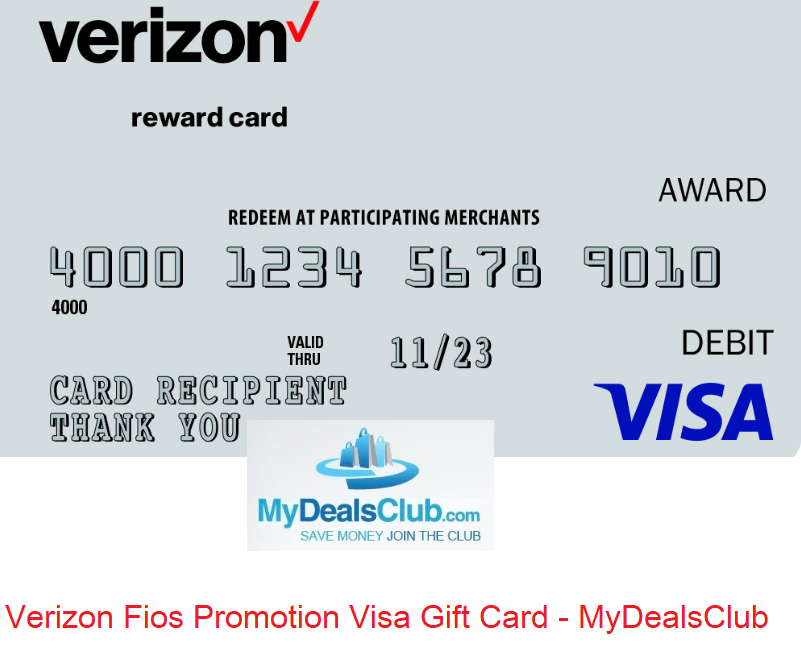 verizon fios promotion visa gift card