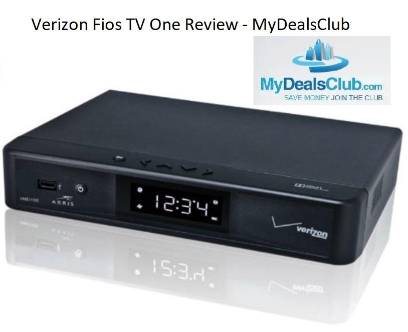 verizon fios tv one review