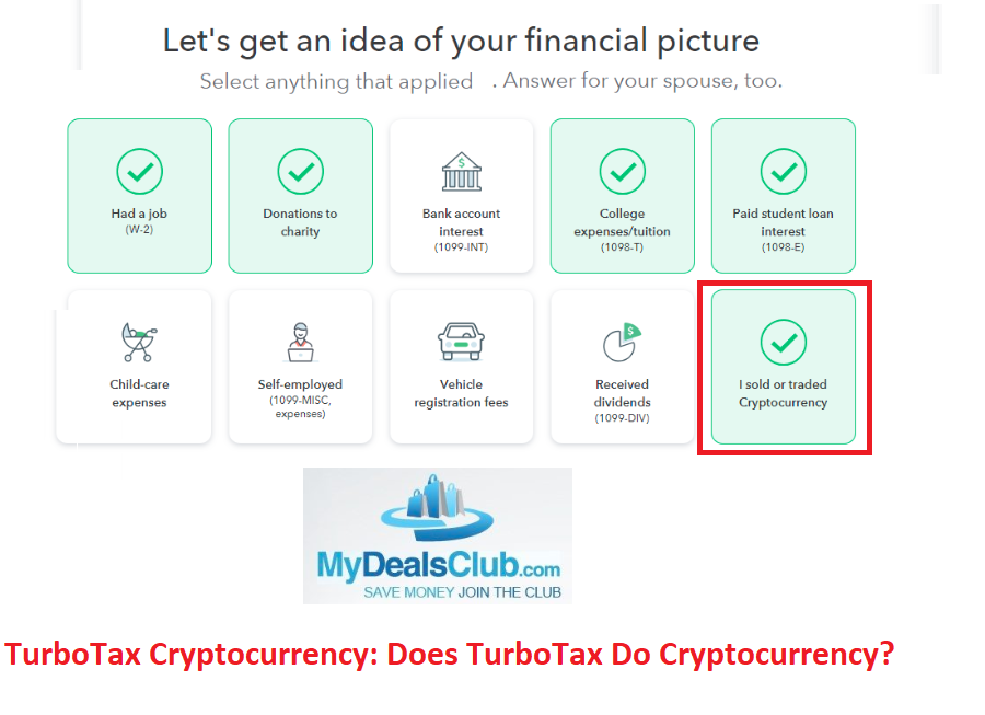 TurboTax Cryptocurrency Does TurboTax Do Cryptocurrency