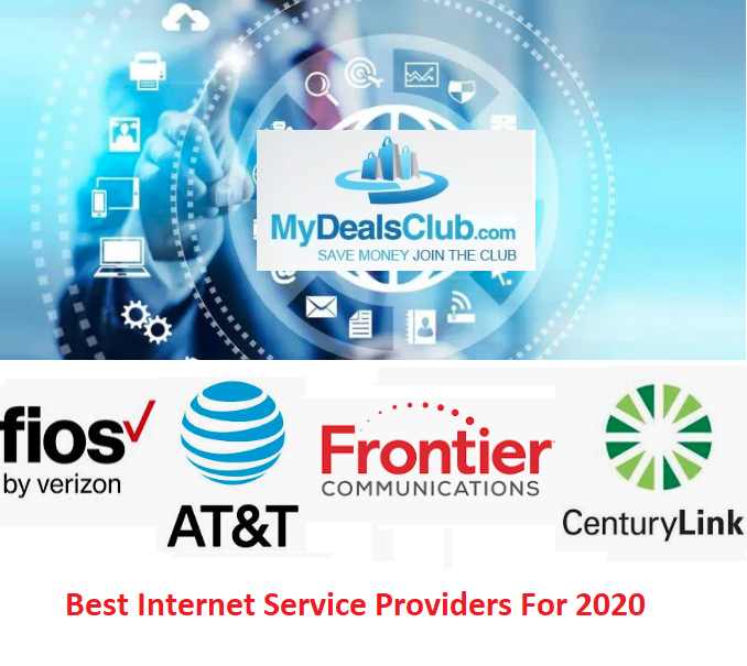 Best Internet Service Providers For 2020 In My Area Home Internet Plans Deals Mydealsclub
