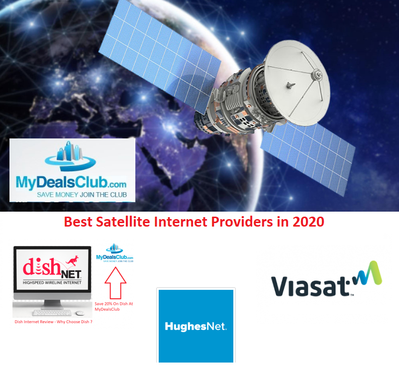 Best Satellite Internet Providers in 2020