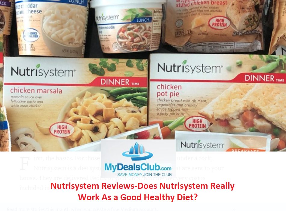 Nutrisystem Reviews-Does Nutrisystem Really Work As a Good Healthy Diet