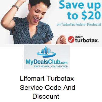 Lifemart Turbotax Service Code