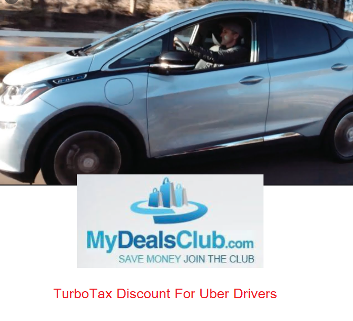 TurboTax Discount For Uber Drivers