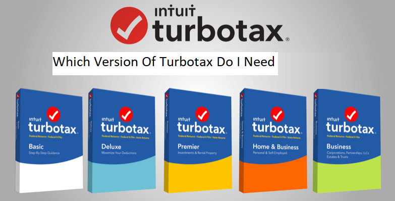 which version of turbotax