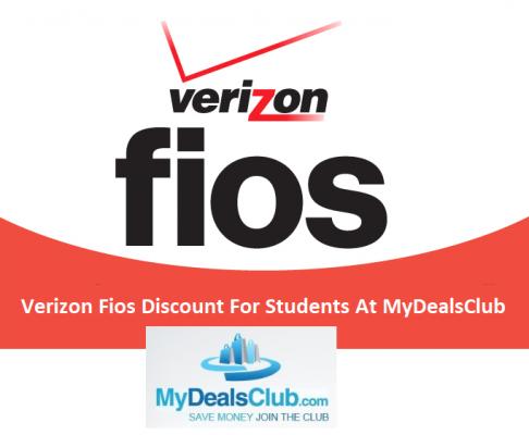 Verizon Fios Student Discount